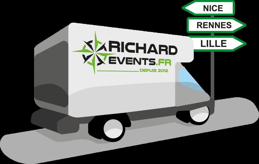 Transport Yvelines avec Richard Events