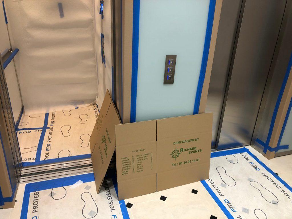 Carton déménagement 78 / Déménagement 78 / Emballage de pour déménagement 78 / Protection ascenseur 78